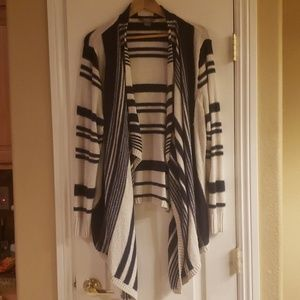 Striped Natural Reflections Cardigan